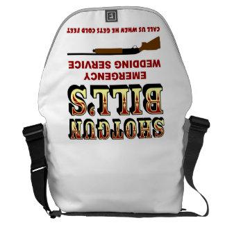 SHOTGUN BILL'S WEDDING MESSENGER BAGS