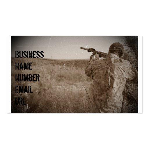 Shotgun Business Cards