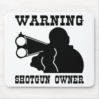 Shotgun Owner Mouse Pad