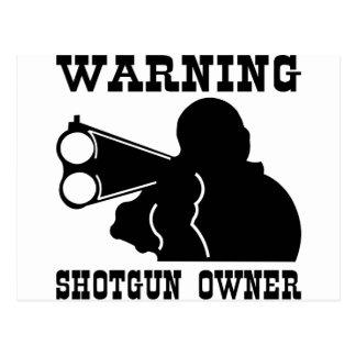 Shotgun Owner Postcard