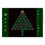 Shotgun Shell Christmas Tree Greeting Card