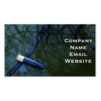 Shotgun Shell Hunting Business Card