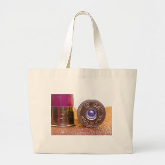Shotgun Shell Large Tote Bag