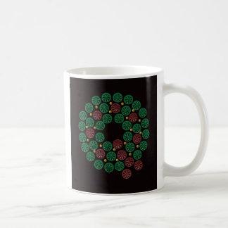 Shotgun Shell Wreath Coffee Mug