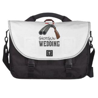 SHOTGUN WEDDING LAPTOP MESSENGER BAG