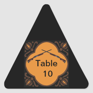 Shotgun Wedding Triangle Sticker
