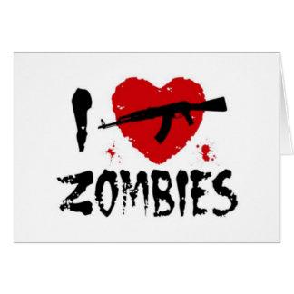 Shotgun Zombies Card