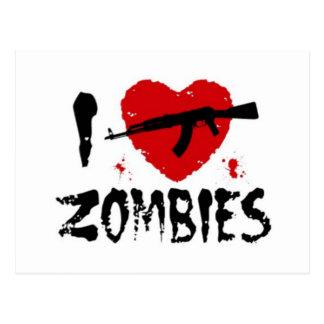 Shotgun Zombies Postcard