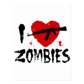 Shotgun Zombies Postcards
