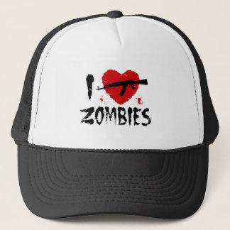 Shotgun Zombies Trucker Hat