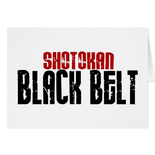 Shotokan Black Belt Karate Cards