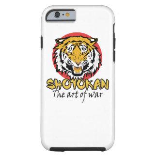 Shotokan - el arte de la guerra funda para iPhone 6 tough