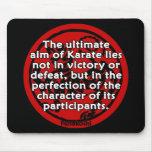 Shotokan - el último objetivo alfombrilla de ratón