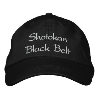 Shotokan Karate - Baseball Cap & Hat