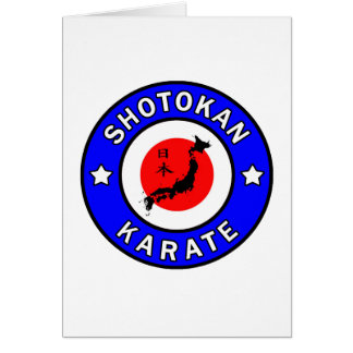 Shotokan Karate Card