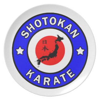 Shotokan Karate Dinner Plate