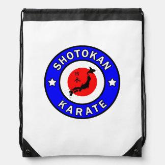 Shotokan Karate Drawstring Bag
