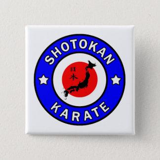 Shotokan Karate Pinback Button