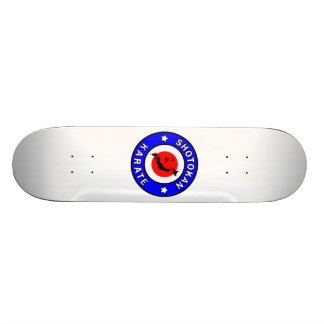 Shotokan Karate Skateboard