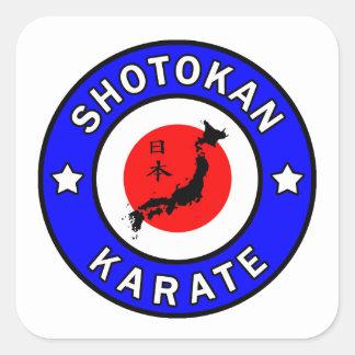 Shotokan Karate Square Sticker