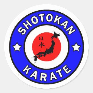 Shotokan Karate sticker
