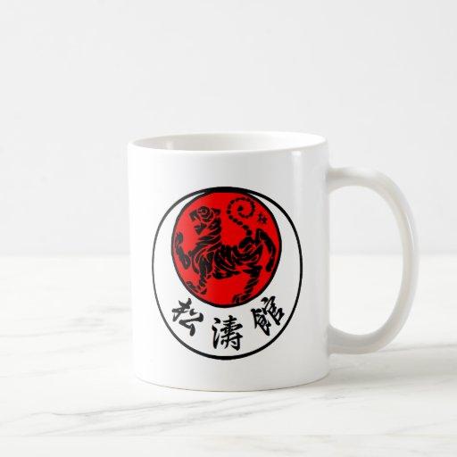 Shotokan Rising Sun Japanese Calligraphy - Karate Mug