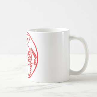 Shotokan Rising Sun Tiger Japanese - Karate Japan Coffee Mug
