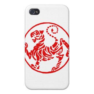 Shotokan Rising Sun Tiger Japanese - Karate Japan iPhone 4 Covers