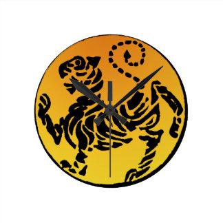 Shotokan Tiger - Gold Clocks