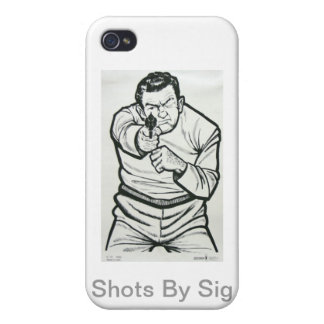 Shots By Sig I Phone Case Cover For iPhone 4