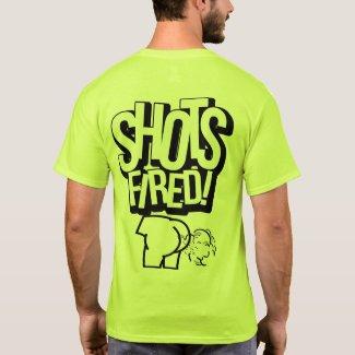 Shots Fired Safety Green T-Shirt