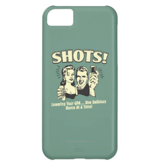 Shots: Lowering Your GPA iPhone 5C Case