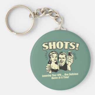 Shots: Lowering Your GPA Keychain