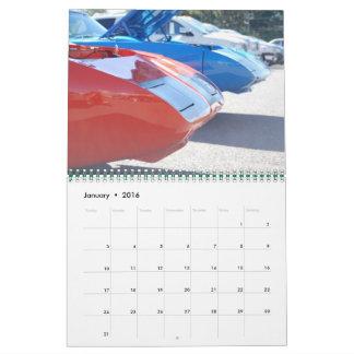 Shots of Mopar Calendar by WIZARD Photography
