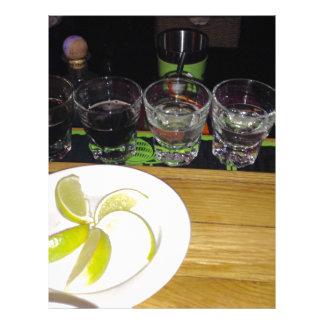 Shots With A Little Lime Letterhead