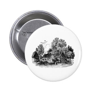 Shottery Cottage Pin