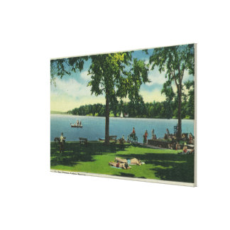 Shotwell Park on a Sunny Day Canvas Print