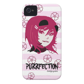 Shoujo Kirei Nekotan iPhone 4 Case-Mate Case
