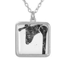 Shoulder Bones Silver Plated Necklace