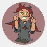 Shoulder Devil Sticker