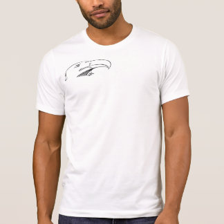 Shoulder eagle with a back print T-Shirt
