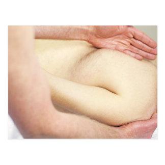 Shoulder Massage Postcard
