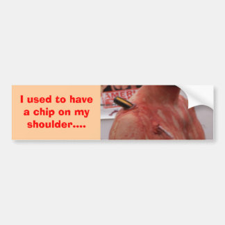Shoulder Pain Bumper Sticker