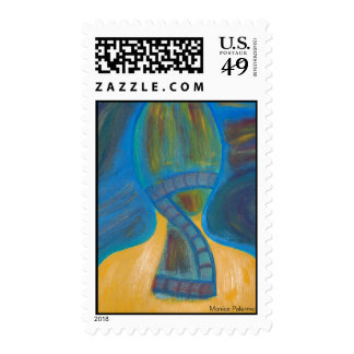 Shoulder view postage