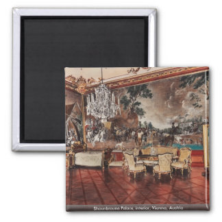 Shounbroune Palace, interior, Vienna, Austria Fridge Magnet