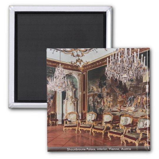 Shounbroune Palace, interior, Vienna, Austria Magnet
