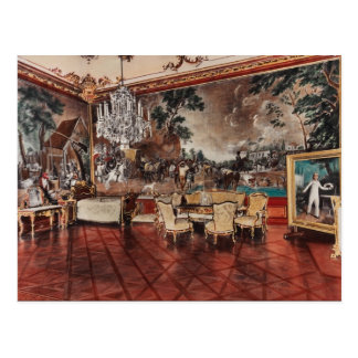 Shounbroune Palace, interior, Vienna, Austria Postcard