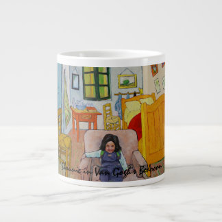 Shounie in Van Gogh's Bedroom Giant Coffee Mug