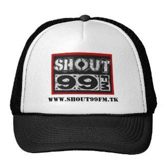shout 99 fm trucker hat