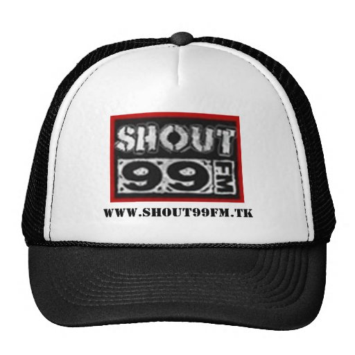 shout 99 fm trucker hat
